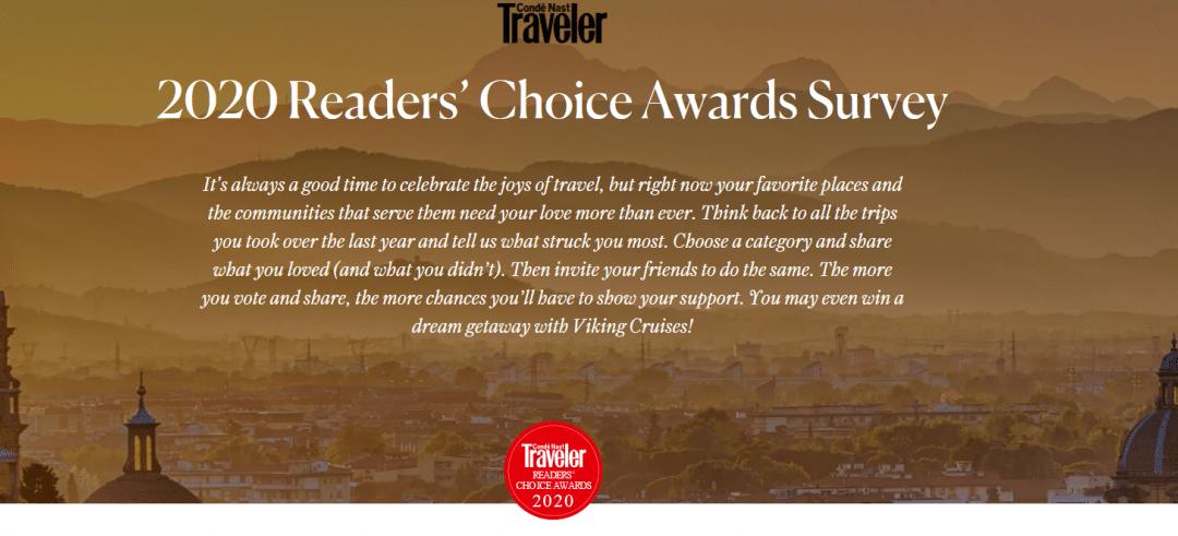 Boone Tavern nominated for Conde Nast Traveler's Reader's Choice Award