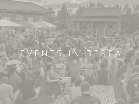 Events in  Berea, KY