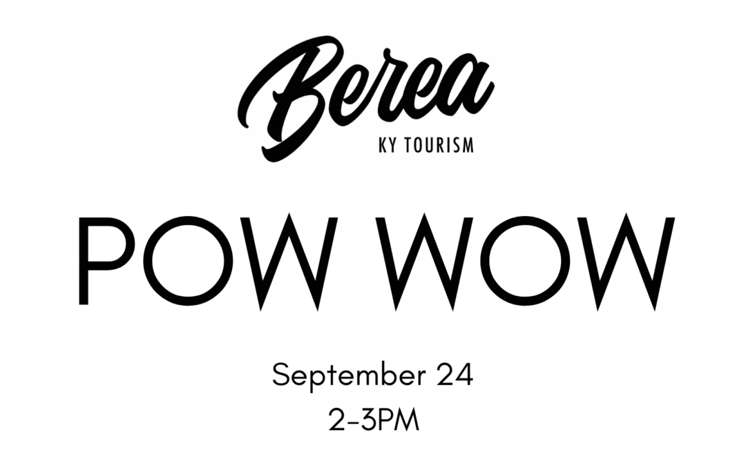 Pow Wow Performance in Artisan Village, Berea Scheduled for September 24
